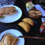Empanada de Mandioca amongst other tasty stuff