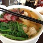 Wonton Noodle Big Bowl with Pork