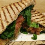 Moz & Tomato Sandwich