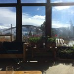 View from main lodge/dining area