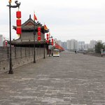 Top of the Xi'an City Wall