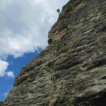 Climbing at Wye Creek