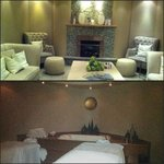 Couple's Premium Room and Spa relaxation library