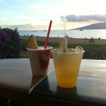 Sunset drinks at the Cliff Dive Bar