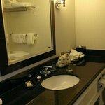 washroom sink side