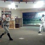 Inside the museum ~ player replicas