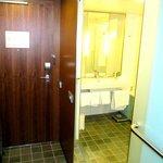 Main door/bathroom