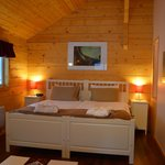 Bed in Chalet Arnika