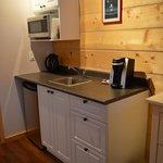 kitchen in Chalet Arnika