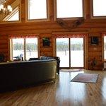 Lounge area in main lodge
