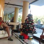 Sala de espera, en la recepcion del hotel!!