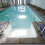 Luxury indoor heated pool