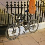 The bike after 3 wet days in October