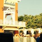 Pool Area Villa Side