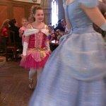 Fun following the princess's around the room!