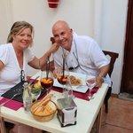 Zaken diner met Fins Agent Alamo Costa Blanca