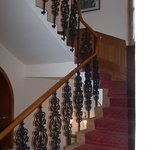 I liked the staircase, fit in with the decor
