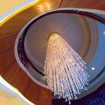 Lobby stairs - Shangri-La Hotel Guilin