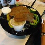 Greek Salad @ East Bay Deli in Charleston SC
