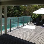 Best lap pool ever, best colour so warm so luxurious, best place to float after a surf or ride i
