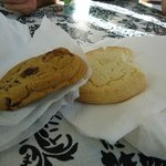 Chocolate Chip and Shortbread Cookies @ Delish! Bakery & Bistro in Charleston SC