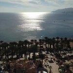 Utsikt över Aqababukten