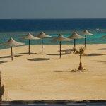 Spiaggia vista dal ristorante