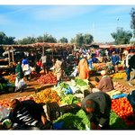 The market in the nearby town, Tnine Ourika