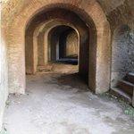 Katakomben im Amphitheater