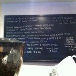 The tasty menu of tempting things...