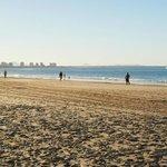 Beach opposite Landmark Resort