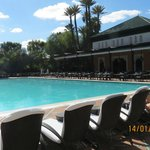 Pool & Breakfast area