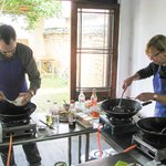 Wok Cooking in Chao Long Village