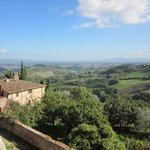 A view from San Gimignano