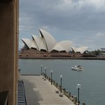 View of the Sydney Opera House from our room