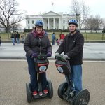 Segwaying at the White House