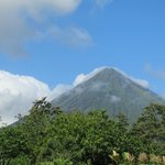 View from our balcony - Arenal Volcano