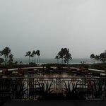 Sicht aufs Meer von der Lobby aus