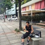 Preparing for a skate along Bogota's Sunday Ciclovía (Cycling Route)