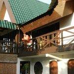 habitaciones y terraza