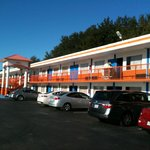 Howard Johnson orange and blue.