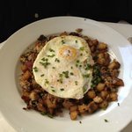 Pork Belly Hash and Eggs
