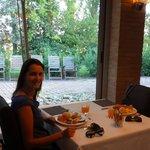 Café da manhã excelente e em um lindo restaurante!