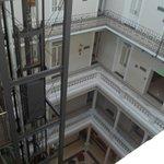 vista del centro del hotel