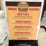Brook's:  Home Of The Goober Burger!  GET THIS!! And Throw The Fried Egg On Top!  AWESOME!!