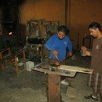 Visite d'un atelier de verre soufler à Cabo San Lucas