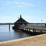 Wharf on the Potomac River