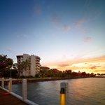 Sunset at STAR Marina