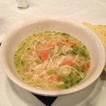 Chicken Noodle soup with Challah bread