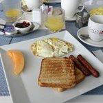 breakfast. about 15USD
